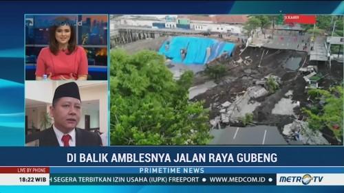 Mencari Penyebab Amblesnya Jalan Gubeng Surabaya