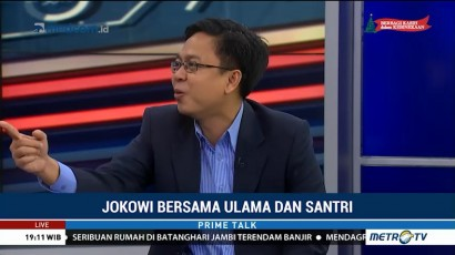 Burhanuddin: Pemilih Muslim Beralih ke Jokowi