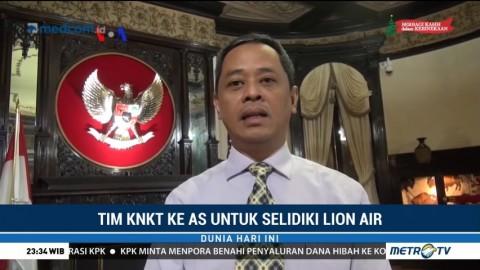 Tim KNKT ke AS Selidiki Kecelakaan Lion Air PK-LQP