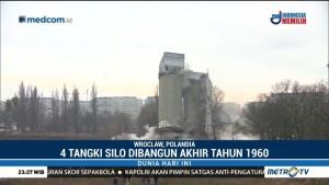 4 Tangki Silo Bersejarah di Polandia Dihancurkan