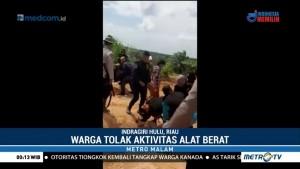Warga Bentrok dengan Petugas Keamanan Perusahaan Sawit di Riau