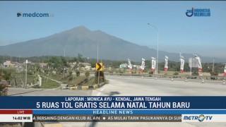 Lima Ruas Tol Trans Jawa Ini Digratiskan Selama Libur Nataru
