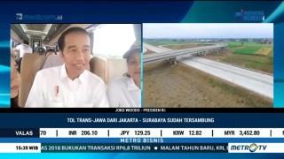 Jajal Tol Trans Jawa, Jokowi: Lebih Cepat, Mudah dan Murah