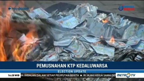 Disdukcapil Surakarta Musnahkan 50 Ribu KTP-el Rusak