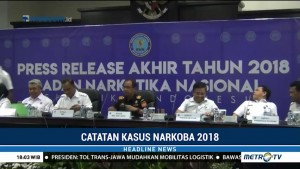 Polri Tindak 914 Kasus Narkoba Sepanjang 2018