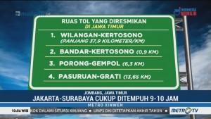 Tol Trans Jawa Resmi Tersambung