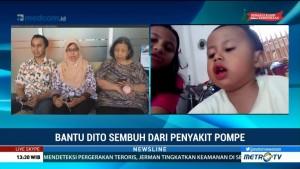 Bantu Dito Sembuh dari Penyakit Pompe