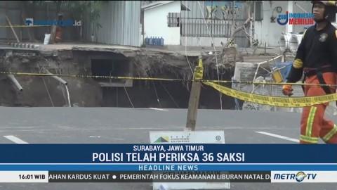 Jalan Gubeng Ambles, Polisi Telah Periksa 36 Saksi