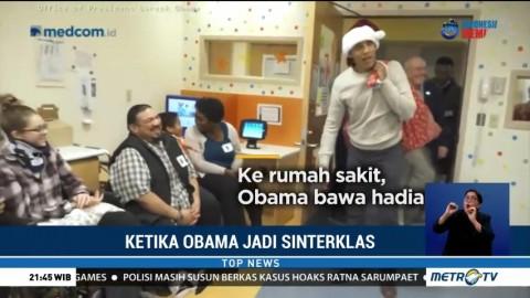 Ketika Obama Jadi Sinterklas