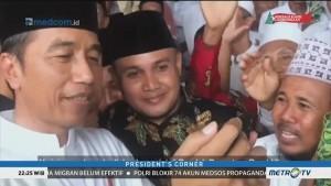 Jokowi <i>Nge-vlog</i> Bersama Warga Jombang