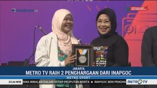 Metro TV Raih Dua Penghargaan dari INAPGOC