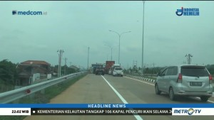 Tol Batang-Semarang Mulai Dipadati Kendaraan