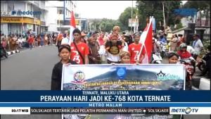 Ribuan Warga Ramaikan Parade Harmoni Ternate