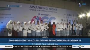 360 Peserta Raih Beasiswa OSC <i>Medcom.id</i> 2018
