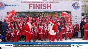 Lomba Lari Berkostum Santa
