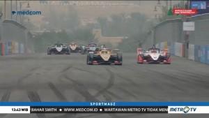 Balapan Penuh Drama Buka Formula E Arab Saudi