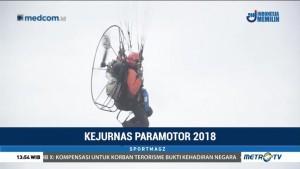 32 Pilot Adu Ketangkasan di Kejurnas Paramotor 2018