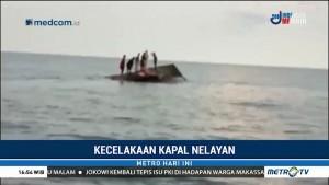 Kapal Tenggelam di Perairan Pulau Dapur, Lima ABK Hilang