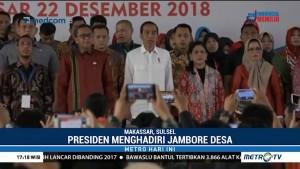 Jokowi Hadiri Jambore Desa di Makassar
