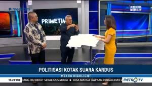 Politisasi Kotak Suara Kardus