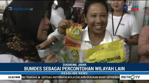 Menteri Rini Resmikan BUMN Shop di Sukabumi