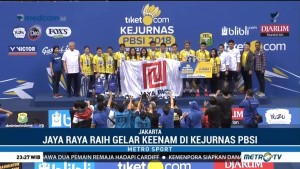 Jaya Raya Juara Kejurnas PBSI 2018