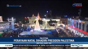Presiden Palestina Hadiri Perayaan Natal