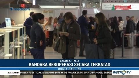 Pascaerupsi Gunung Etna di Italia, Bandara Catania Kembali Dibuka