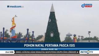 Setahun Bebas dari ISIS, Irak Dirikan Pohon Natal Terbesar di Baghdad