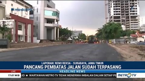 Upaya Pemulihan Jalan Raya Gubeng yang Ambles