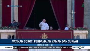 Vatikan Soroti Perdamaian Yaman dan Suriah