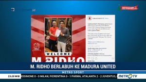 M Ridho Djazulie Berlabuh ke Madura United