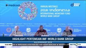 Kaleidoskop Ekonomi: Pertemuan IMF-World Bank Group