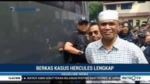 Berkas Lengkap, Kasus Hercules Dilimpahkan ke Kejaksaan