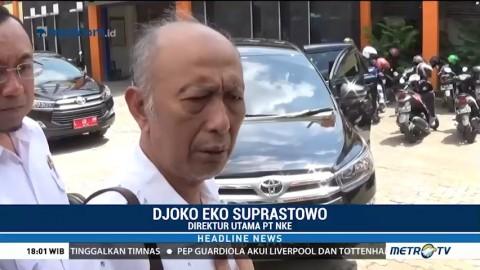 PT NKE Tanggung Jawab Perbaikan Jalan Ambles Gubeng