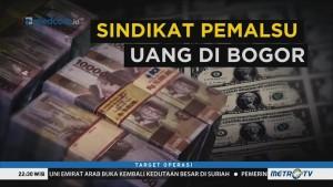 Sindikat Pemalsu Uang di Bogor (1)
