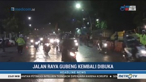 Jalan Raya Gubeng Kembali Dibuka