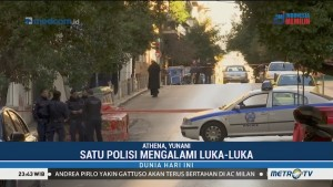 Ledakan di Gereja Athena, Satu Polisi Alami Luka-luka