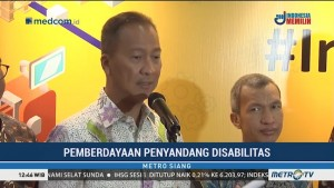 Kemenperin-Kemensos Buka Program Pelatihan untuk Penyandang Disabilitas