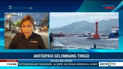 Cuaca Buruk, Sejumlah Jadwal Pelayaran di Manado Ditutup
