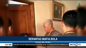 Satgas Anti Mafia Bola Tangkap Dwi Irianto alias Mbah Putih