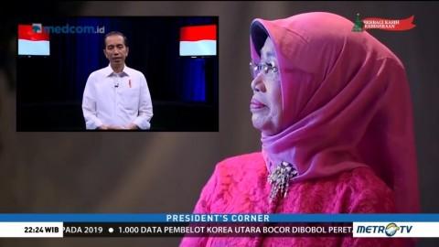 Kejutan Jokowi untuk Sang Ibu