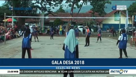 Gala Desa 2018 di Bogor Mendapat Sambutan Meriah dari Warga