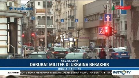 Darurat Militer di Ukraina Berakhir