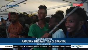 300 Imigran yang Dievakuasi dari Laut Mediterania Tiba di Spanyol