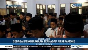 Ratusan Santri di Ponpes Kempek Cirebon Gelar Salat Gaib untuk Rifai Pamone