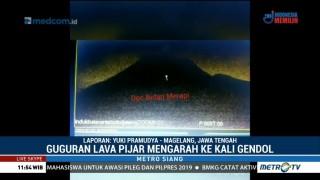 Gunung Merapi Kembali Keluarkan Lava Pijar