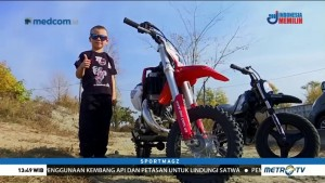 Rider Cilik Asal Ukraina