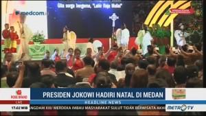 Jokowi akan Hadiri Perayaan Natal Nasional 2018 di Medan