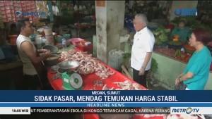 Sidak Pasar di Medan, Mendag Temukan Harga Kebutuhan Pokok Stabil